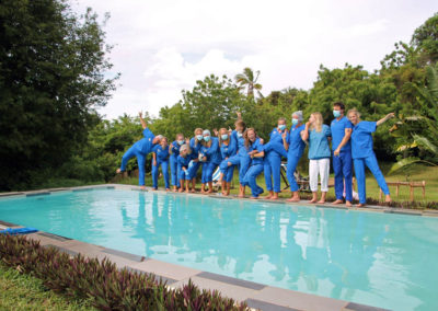 Blue Pool Party