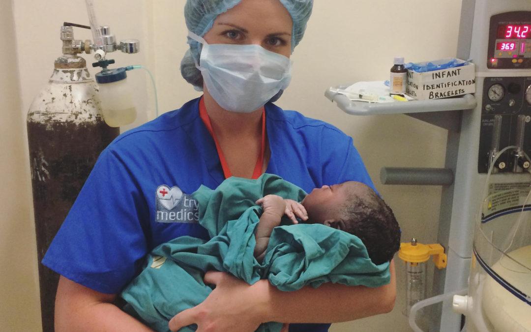 My internship as pre-midwife in Uganda